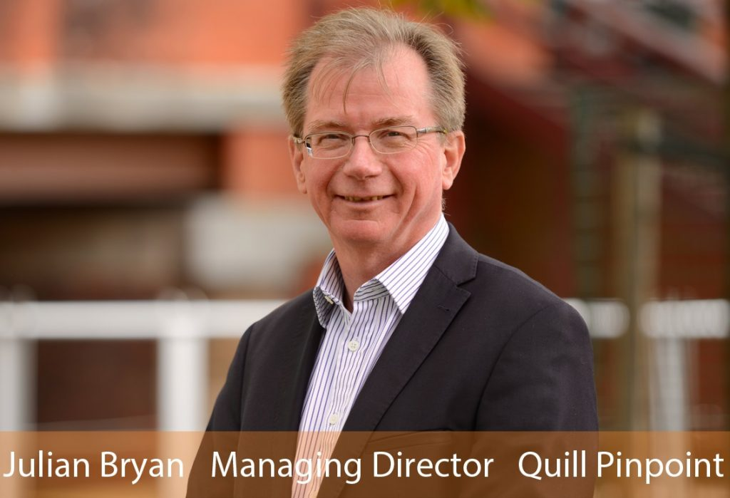 Julian Bryan, Managing Director Quill Pinpoint