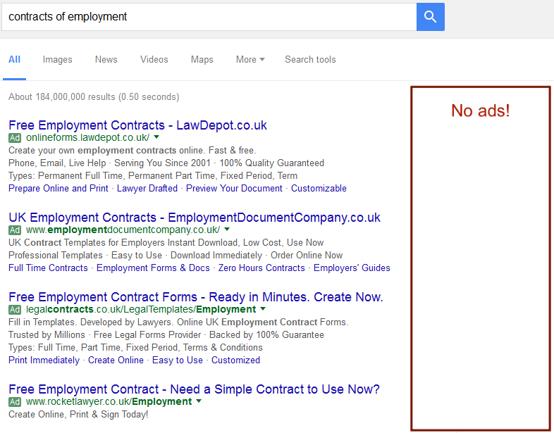 Changes To AdWords Internet Newsletter For LawyersInternet - Create contract online