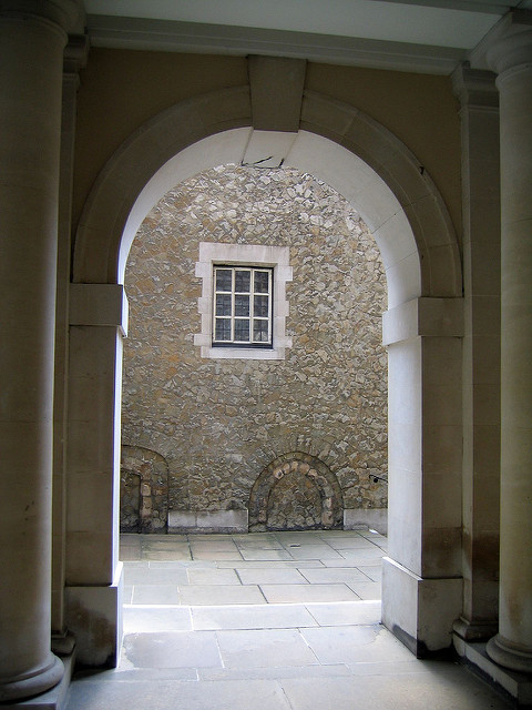Archway to Elm Court by Ruth Hartnup